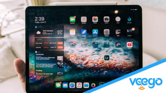iPad controlling Smart Home